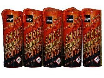 Świece Dymne JFS-1 Pomarańczowe - 5 sztuk