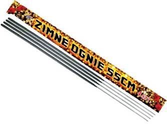 Zimne ognie 55cm E7023 - 20 sztuk (5 opakowań)