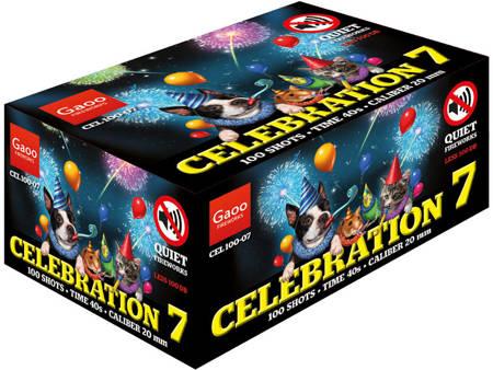 """Celebration 7 CEL100-07 - 100 strzałów 0.8"""""""