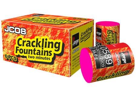 Crackling Fountains JC08 - 6 sztuk