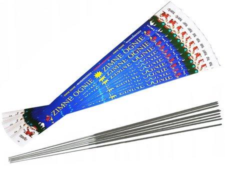 Długie Zimne Ognie 70cm - 50 sztuk (10 opakowań)