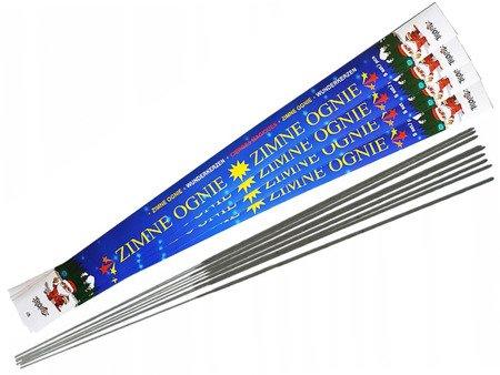 Długie Zimne Ognie 70cm ZO70 - 20 sztuk (4 opakowania)
