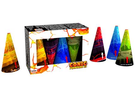 Fontánový mix F2M  - 4 sztuki
