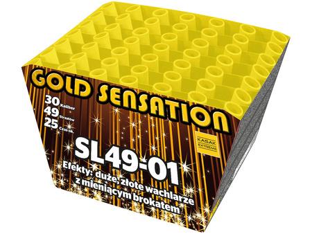 """Gold Sensation SL49-01 - 49 strzałów 1.2"""""""