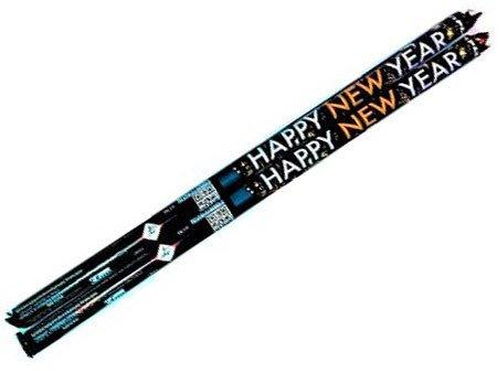 """Happy New Year TXC777 - 10 strzałów 0.3"""" (2 sztuki)"""