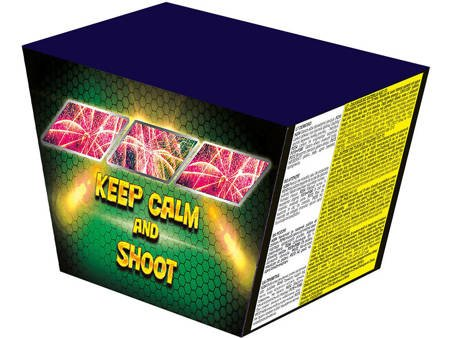 "Keep Calm & Shoot P7635 - 49 strzałów 1"""