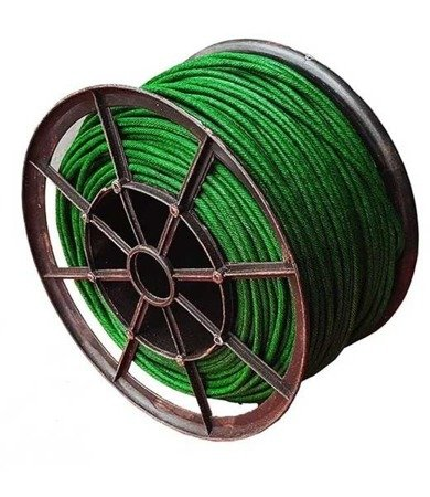 Lont zielony XP1009 - 3mm 10CM/1SEC 100m