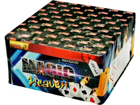 """Magic Heaven F2S20-003 - 100 strzałów 0.8"""""""