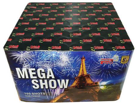 """Mega Show F2S20F - 100 strzałów 0.8"""""""