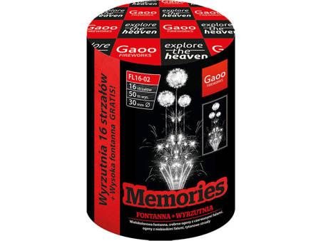 """Memories FL16-02I - 16 strzałów 1.2"""" + fontanna"""