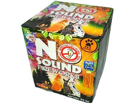 """No sound Fireworks C253NO14 - 25 strzałów 1.2"""""""