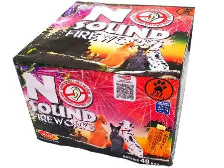 """No sound Fireworks C4925NO14 - 49 strzałów 1"""""""