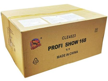 """PROFI SHOW 168 CLE4523 - 168 strzałów 1.2""""/2"""""""