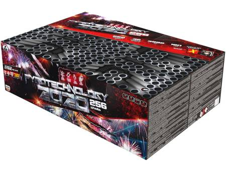 """Pyrotechnology 2020 C256XMPT/C - 256 strzałów 1.2"""""""