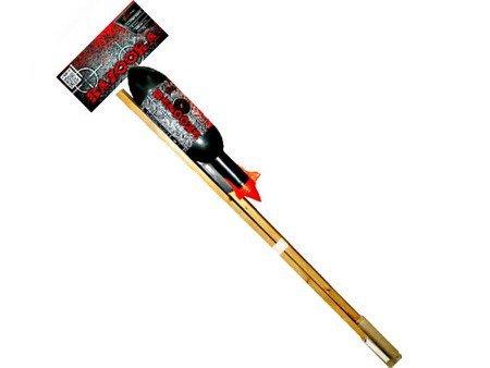 Rakieta Bazooka PXR302B - Crackling willow with blue pistil