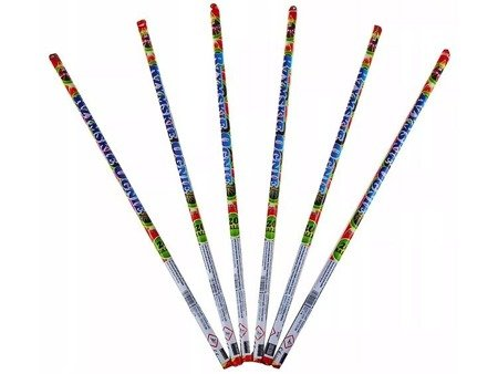 """Rzymskie ognie TXC496 - 20 strzałów 0.3"""" (6 sztuk)"""