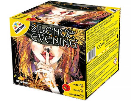 """Silence Evening BB25-2001 - 25 strzałów 0.8"""""""