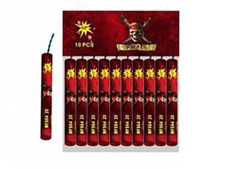 Stroboskopy Pirats MFS64-20 - 10 sztuk