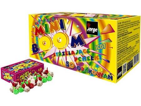 """Strzelające Diabełki """"Mini-Boom"""" JC07 - 50 opakowań BOX"""