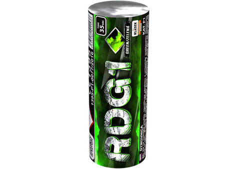 Świeca dymna zielona RDG1