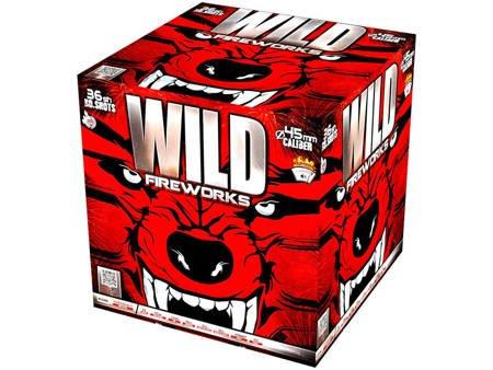 """Wild Fireworks C3645SE - 36 strzałów 45mm 1.8"""""""