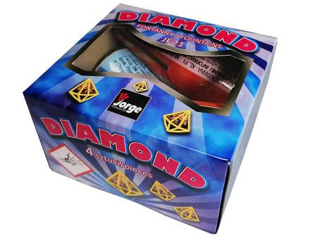 Wulkany Diamond JF21 - 4 sztuki