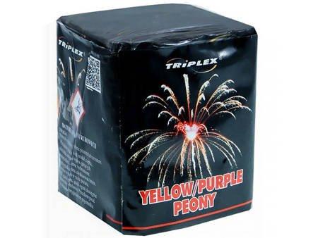 """Yellow & Purple Peony TXB821 - 9 strzałów 0.8"""""""