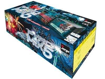 Zestaw Pyro Mix CB5 - 156 strzałów MIX