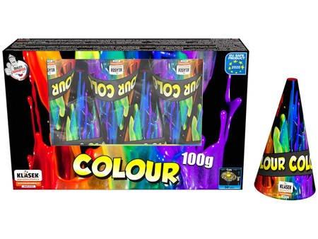 Zestaw kolorowych wulkanów F100C - 6 sztuk