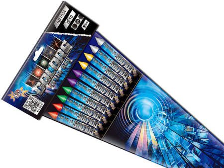 Zestaw rakiet Color of The Sky AU1634 - 10 sztuk