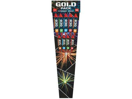 Zestaw rakiet Gold Pack R15-R30-9 - 9 sztuk