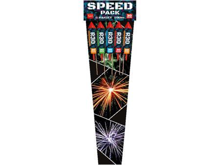 Zestaw rakiet Speed Pack R30 - 5 sztuk